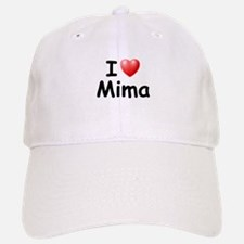 I Love Mima (Black) Baseball Baseball Cap