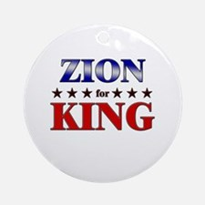 ZION for king Ornament (Round)
