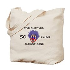 50 Birthday Tote Bag