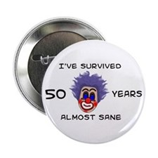 "50 Birthday 2.25"" Button"