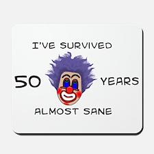 50 Birthday Mousepad