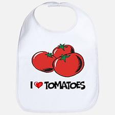 I Love Tomatoes Bib