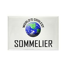 World's Coolest SOMMELIER Rectangle Magnet