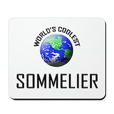 World's Coolest SOMMELIER Mousepad
