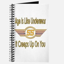 Funny 55th Birthday Journal