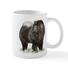 black chow portrait Mug