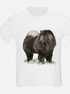 black chow portrait T-Shirt