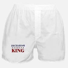 ZECHARIAH for king Boxer Shorts