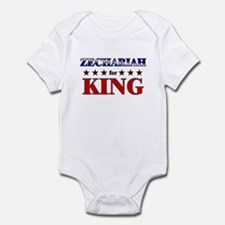 ZECHARIAH for king Infant Bodysuit