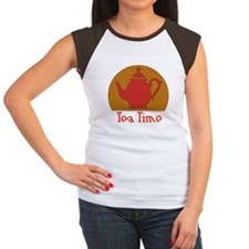 Tea Time Women's Cap Sleeve T-Shirt