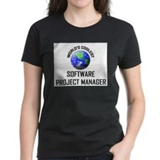 World's Coolest SOFTWARE PROJECT MANAGER Tee