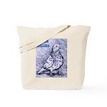 Parlor Roller Pigeon Tote Bag