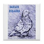 Parlor Roller Pigeon Tile Coaster