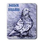 Parlor Roller Pigeon Mousepad