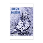 Parlor Roller Pigeon Mini Poster Print