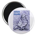 Parlor Roller Pigeon Magnet
