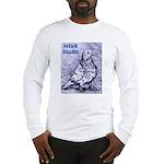 Parlor Roller Pigeon Long Sleeve T-Shirt