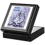 Parlor Roller Pigeon Keepsake Box