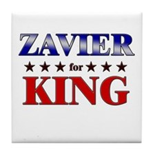 ZAVIER for king Tile Coaster