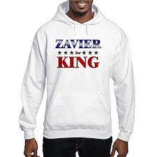 ZAVIER for king Hoodie