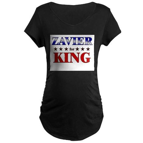 ZAVIER for king Maternity Dark T-Shirt