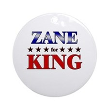 ZANE for king Ornament (Round)
