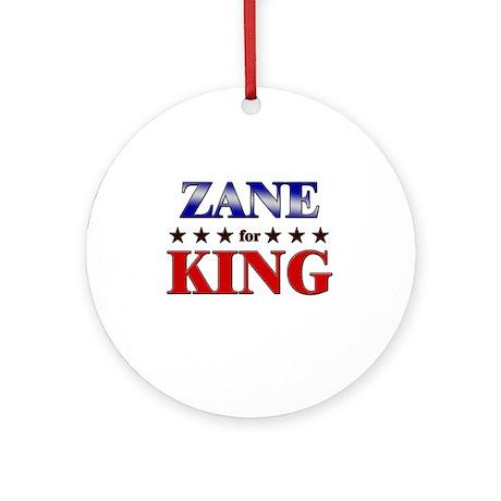 ZANE for king Ornament (Round)