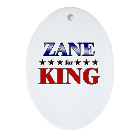 ZANE for king Oval Ornament