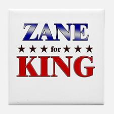 ZANE for king Tile Coaster