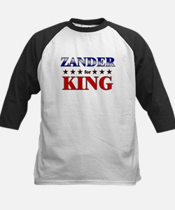ZANDER for king Kids Baseball Jersey