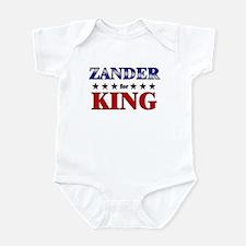 ZANDER for king Infant Bodysuit