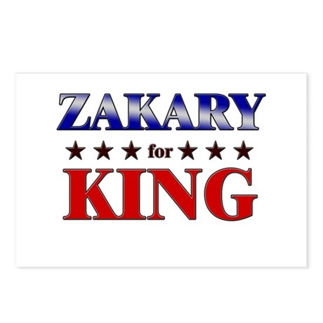 ZAKARY for king Postcards (Package of 8)