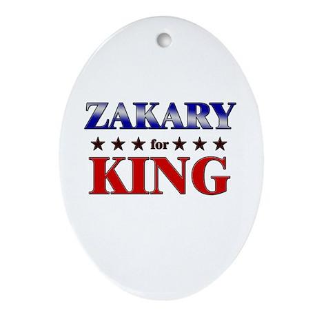 ZAKARY for king Oval Ornament