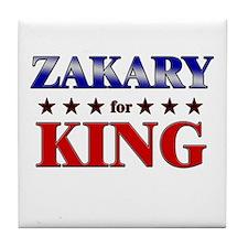 ZAKARY for king Tile Coaster
