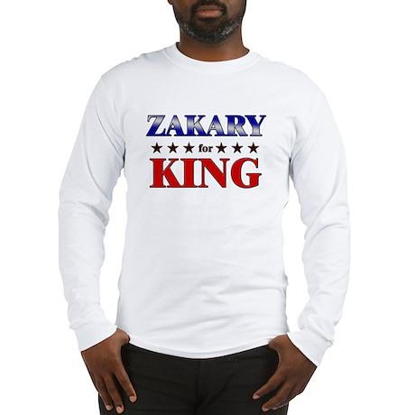 ZAKARY for king Long Sleeve T-Shirt