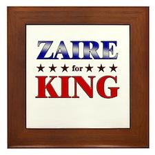 ZAIRE for king Framed Tile