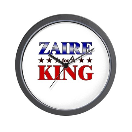 ZAIRE for king Wall Clock