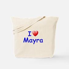 I Love Mayra (Blue) Tote Bag