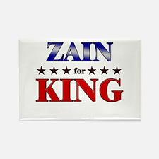 ZAIN for king Rectangle Magnet