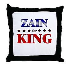 ZAIN for king Throw Pillow