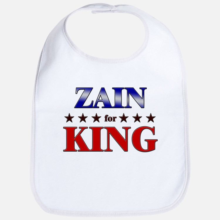 ZAIN for king Bib
