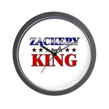 ZACKERY for king Wall Clock