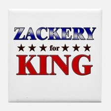 ZACKERY for king Tile Coaster