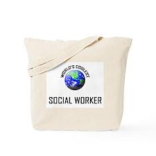 World's Coolest SOCIAL WORKER Tote Bag