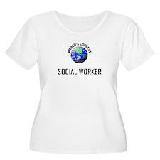 World's Coolest SOCIAL WORKER T-Shirt