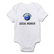 World's Coolest SOCIAL WORKER Infant Bodysuit