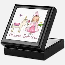 Unicorn Princess Keepsake Box
