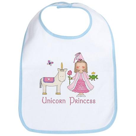 Unicorn Princess Bib