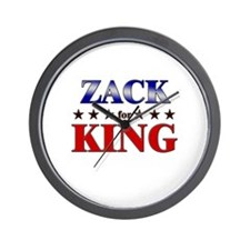 ZACK for king Wall Clock