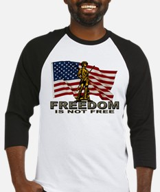 FREEDOM NOT FREE Baseball Jersey